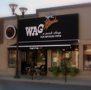 Wag storefront