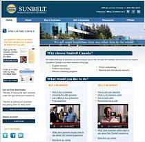Sunbelt Canada website