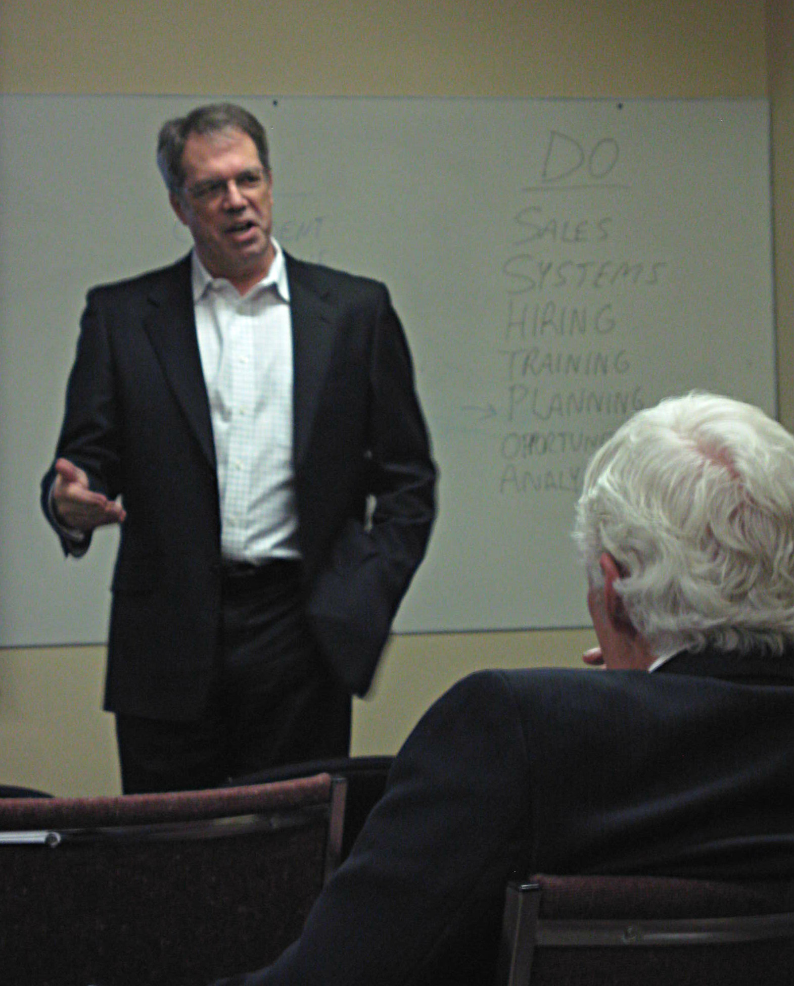 Grant Mellow, ActionCOACH training