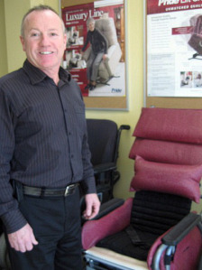 New Silver Cross franchise owner Brian Muldoon had always wanted his own business