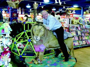 Clyde Walton, manager of the new Mastermind Toys, London, Ontario
